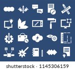 set of 20 icons such as idea ...