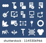 set of 20 icons such as rgb ...
