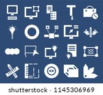 set of 20 icons such as pantone ...