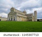 pisa  italy   october 2012 ... | Shutterstock . vector #1145307713