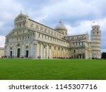 pisa  italy   october 2012 ... | Shutterstock . vector #1145307716