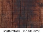 old wood wall texture for ... | Shutterstock . vector #1145318090