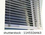 window with modern external... | Shutterstock . vector #1145326463