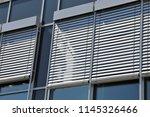 window with modern external... | Shutterstock . vector #1145326466