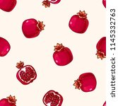 fruits seamless pattern....   Shutterstock .eps vector #1145332763