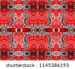old wallpaper texture background | Shutterstock . vector #1145386193