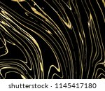 gold  black  white marble... | Shutterstock .eps vector #1145417180