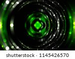 abstract dynamic green... | Shutterstock . vector #1145426570