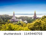 beautiful scenery of the great... | Shutterstock . vector #1145440703