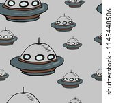 seamless vector pattern with...   Shutterstock .eps vector #1145448506