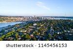 hd background  downtown seattle ... | Shutterstock . vector #1145456153