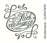 vector calligraphic design... | Shutterstock .eps vector #114547654