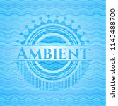 ambient water representation... | Shutterstock .eps vector #1145488700