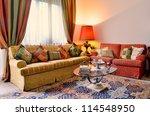 elegant living room with... | Shutterstock . vector #114548950