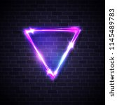 inverted triangle border with...   Shutterstock .eps vector #1145489783