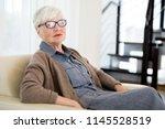 business portrait of elegant... | Shutterstock . vector #1145528519