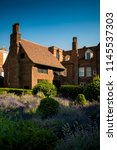tudor mansion in grounds of...