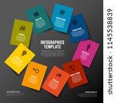 vector multipurpose colorful... | Shutterstock .eps vector #1145538839