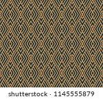 vector seamless pattern. modern ... | Shutterstock .eps vector #1145555879