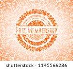 free membership abstract emblem ... | Shutterstock .eps vector #1145566286