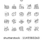 sushi well crafted pixel... | Shutterstock .eps vector #1145583263
