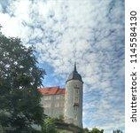 albrecht castle in meissen | Shutterstock . vector #1145584130