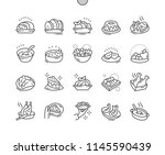 dishes well crafted pixel... | Shutterstock .eps vector #1145590439