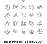 bread well crafted pixel... | Shutterstock .eps vector #1145591309