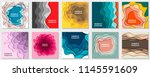 vector collection of 10... | Shutterstock .eps vector #1145591609