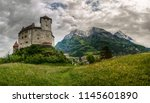 balzers  liechtenstein  ...   Shutterstock . vector #1145601890