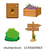 set of farm icons | Shutterstock .eps vector #1145604863