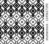 ethnic  tribal style pattern.... | Shutterstock .eps vector #1145617190