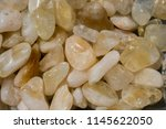 tumbled scitrine gem stone as ... | Shutterstock . vector #1145622050