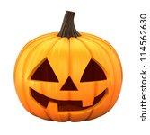 3d render of jack 0 lantern... | Shutterstock . vector #114562630