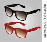 sunglasses vector   Shutterstock .eps vector #114563308