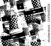 abstract seamless grunge urban... | Shutterstock .eps vector #1145640326