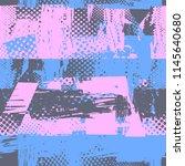 abstract seamless grunge urban... | Shutterstock .eps vector #1145640680