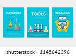 biohazard chemists brochure... | Shutterstock .eps vector #1145642396