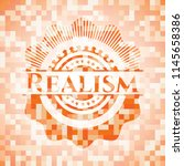 realism orange tile background... | Shutterstock .eps vector #1145658386
