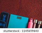 sport tools. sport. | Shutterstock . vector #1145659643
