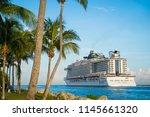 miami   june  2018  the msc... | Shutterstock . vector #1145661320