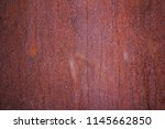 rusted white painted metal wall....   Shutterstock . vector #1145662850