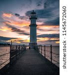 Lighthouse At Newhaven Harbour...