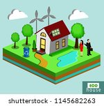 vector isolated illustration of ... | Shutterstock .eps vector #1145682263