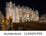 rome italy june 26 2015    view ... | Shutterstock . vector #1145691959