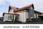 shot of religious chapel or... | Shutterstock . vector #1145705360