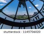 looking out from a see through... | Shutterstock . vector #1145706020