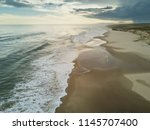 uruguayan beaches are... | Shutterstock . vector #1145707400