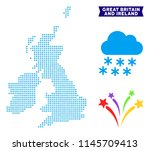 winter great britain and...   Shutterstock .eps vector #1145709413