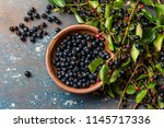 superfood maqui berry....   Shutterstock . vector #1145717336